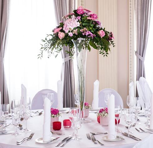 Marion Strutt Floristik Hochzeits Tisch Deko